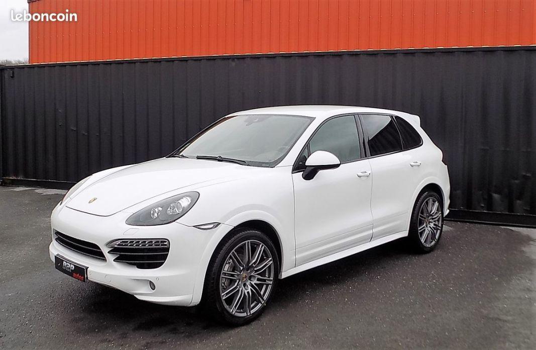 photo vehicule vendu - Porsche Cayenne 4.2 v8 382 cv sport design gts