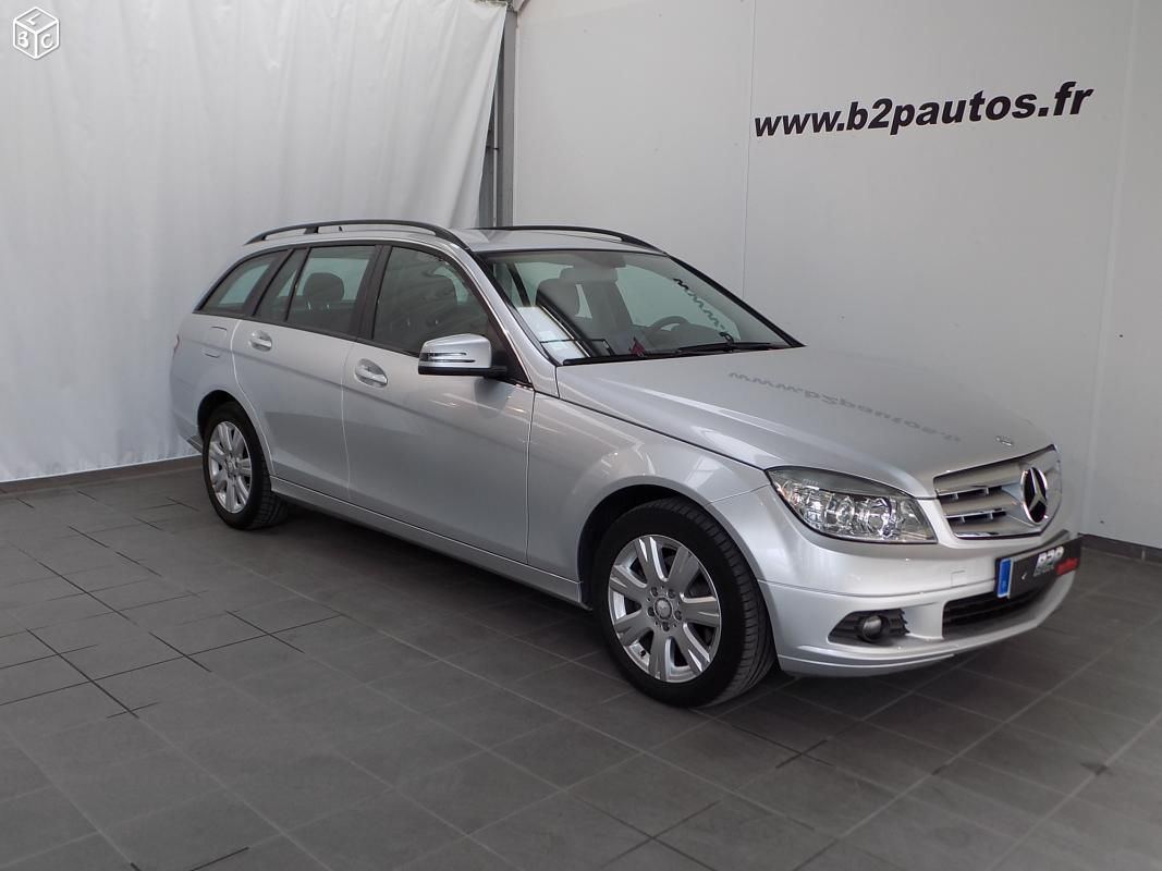 photo vehicule vendu - Mercedes c 200 cdi 136 cv break classe c200