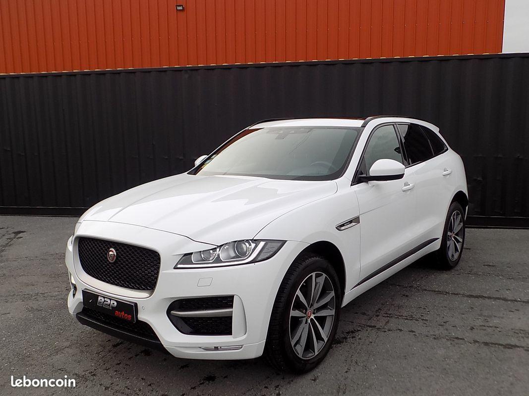 photo principale produit voiture Jaguar f-pace 2.0d 180 ch r-sport awd