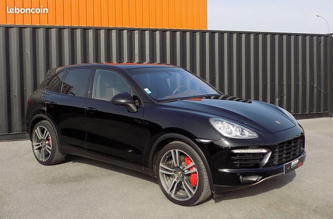 photo vehicule vendu - Porsche cayenne v8 turbo 500 cv