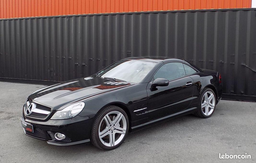 photo principale produit voiture Mercedes sl 350 cabriolet 315 cv