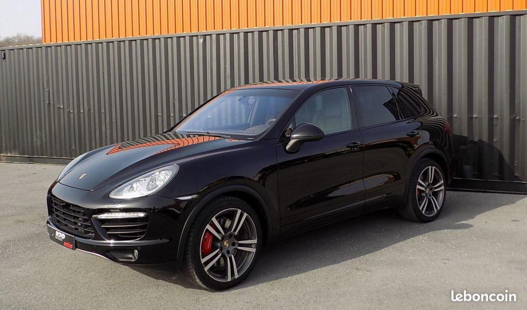 photo secondaire Porsche cayenne v8 turbo 500 cv porsche