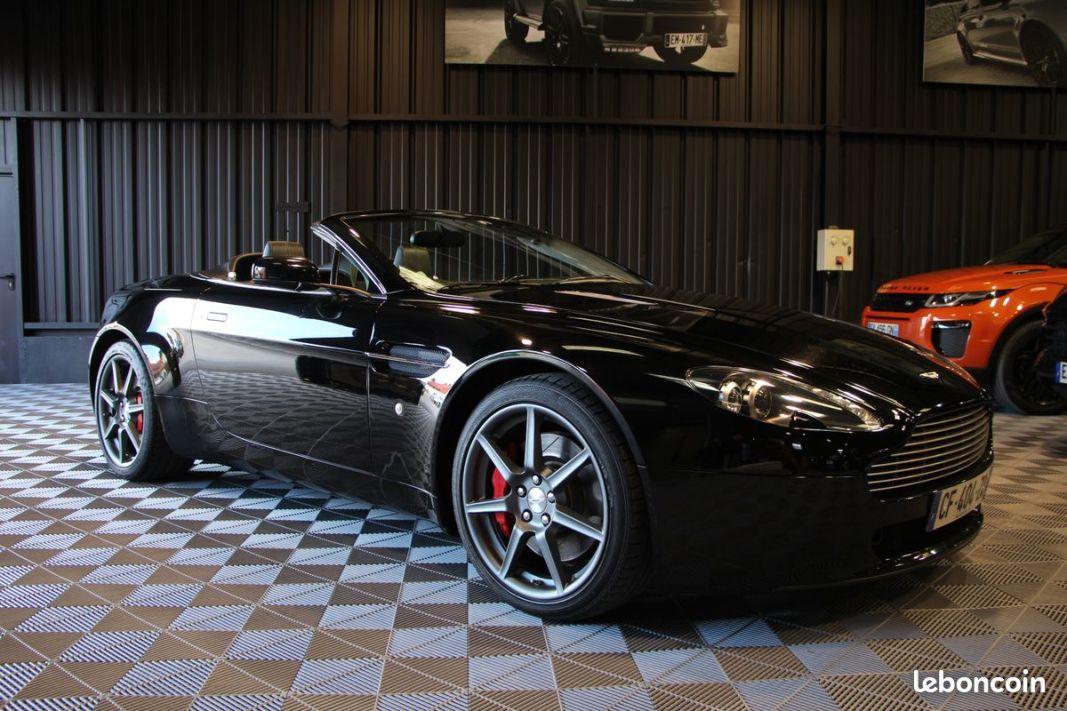 photo voiture aston_martin Aston martin vantage 4.3 l v8 390 cv roadster cabriolet