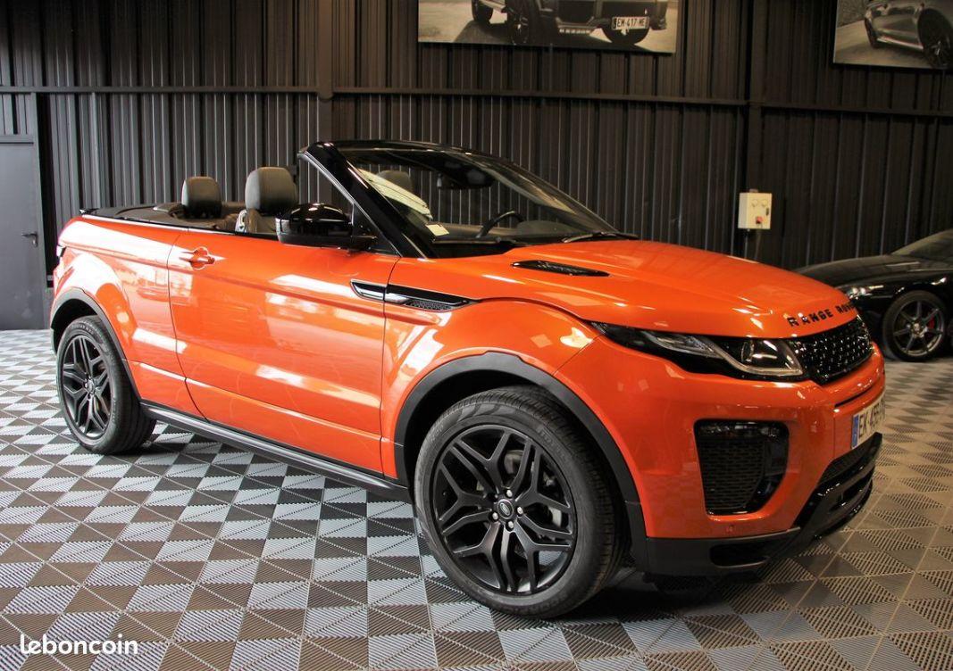 photo vehicule vendu - Range rover evoque cabriolet dynamic hse 180 cv land rover