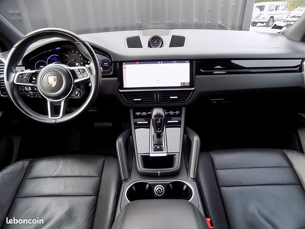 photo secondaire Porsche cayenne 3.0 v6 340 cv pack chrono sport plus porsche