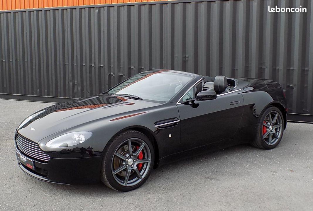photo secondaire Aston martin vantage 4.3 l v8 390 cv roadster cabriolet aston_martin