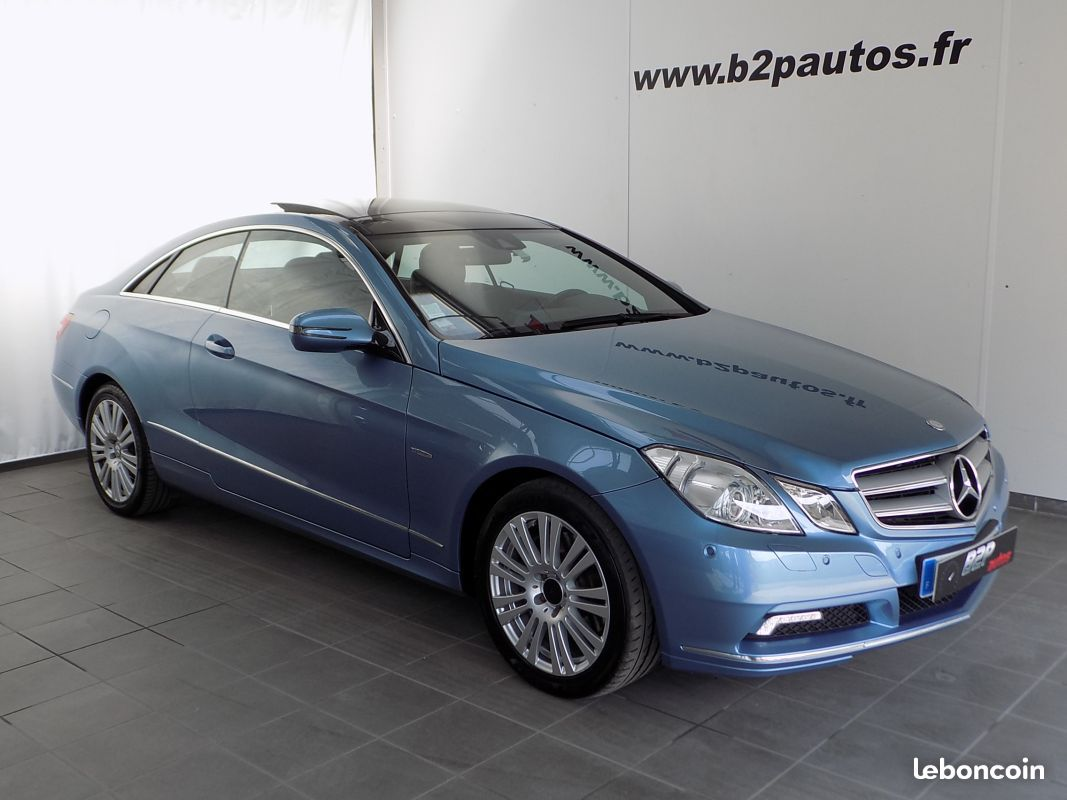 photo vehicule vendu - Mercedes classe e 350 cdi v6 executive 231cv to