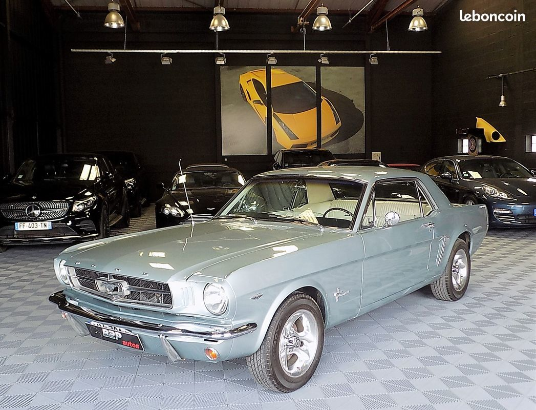 photo voiture ford Ford mustang 289 ci v8 en stock