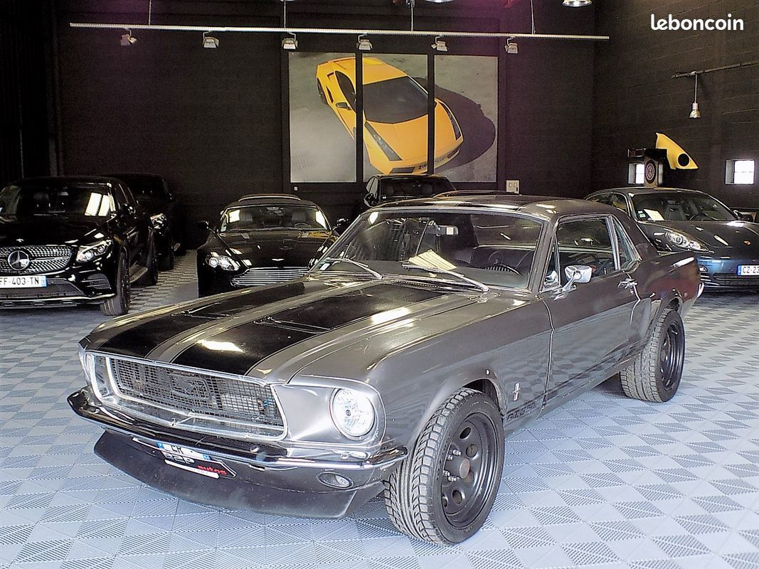photo voiture ford Ford mustang 289 ci v8 francaise en stock