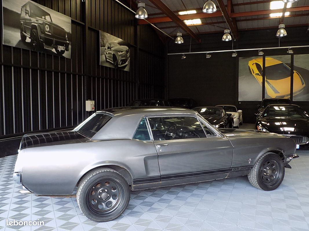 photo secondaire Ford mustang 289 ci v8 francaise en stock ford
