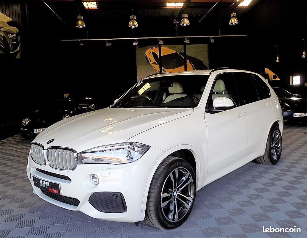 photo vehicule vendu - Bmw x5 m-sport 40d 313cv