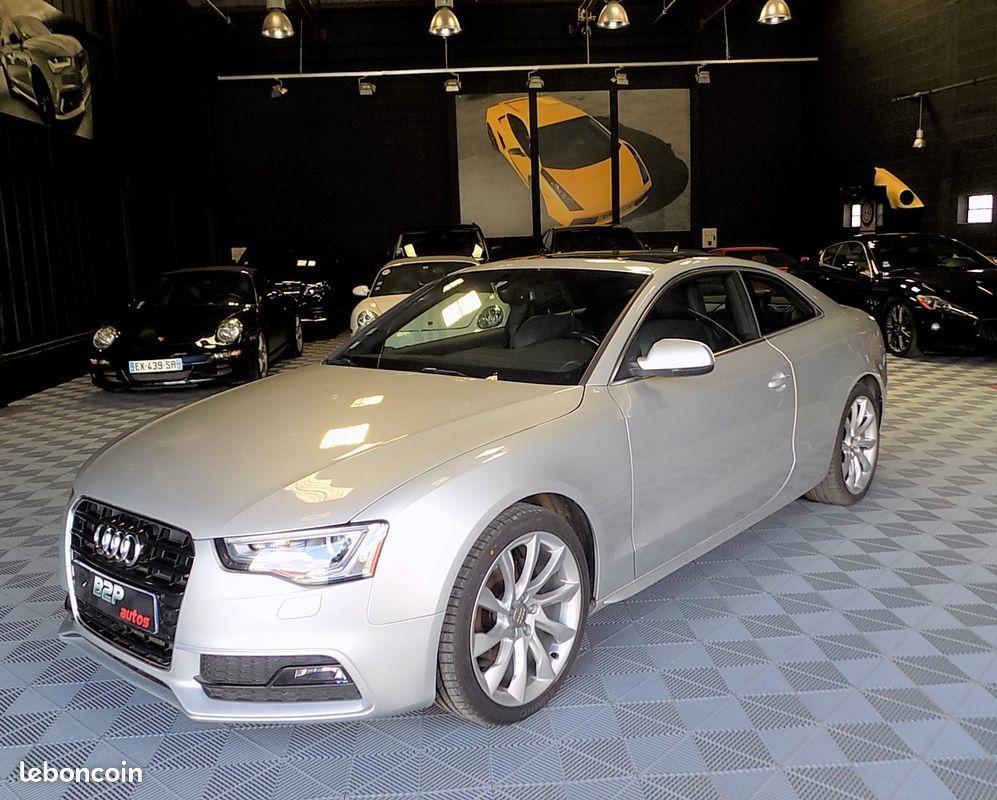 photo voiture audi Audi a5 2.0 tdi 177 cv bv6 s-line