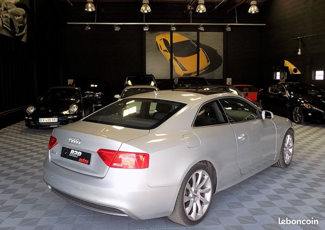 photo secondaire Audi a5 2.0 tdi 177 cv bv6 s-line audi