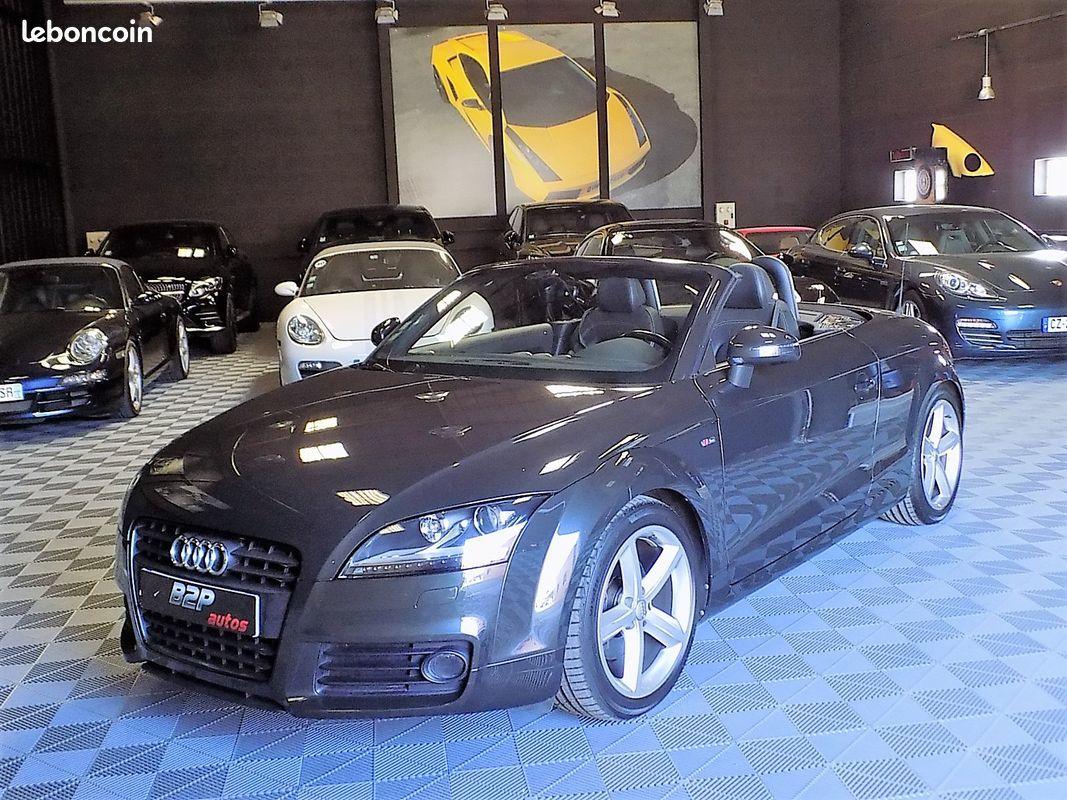 photo voiture audi Audi tt cabriolet 1.8 tfsi 160 cv s-line roadster