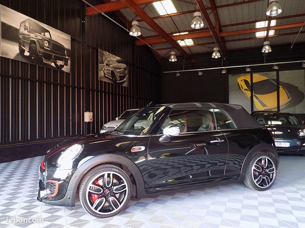 photo secondaire Mini cabriolet jcw 231 cv bva john cooper works mini