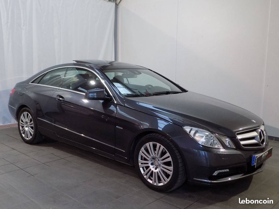 photo vehicule vendu - Mercedes classe e250 cdi coupe 204 cv bva to