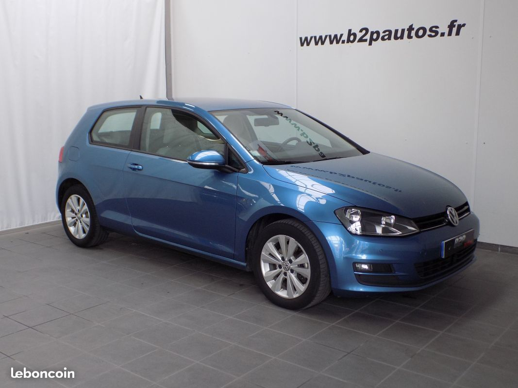 photo vehicule vendu - Vw golf vii 1.6 tdi 105 confortline business gps