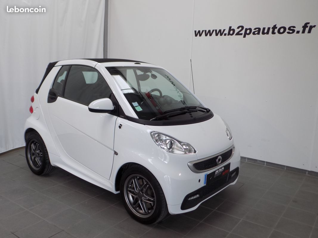 photo vehicule vendu - Smart fortwo turbo cabriolet 84 cv jantes brabus