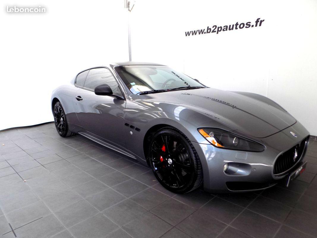 photo vehicule vendu - Maserati Granturismo S V8 4.7 l 440 ch bvr F1