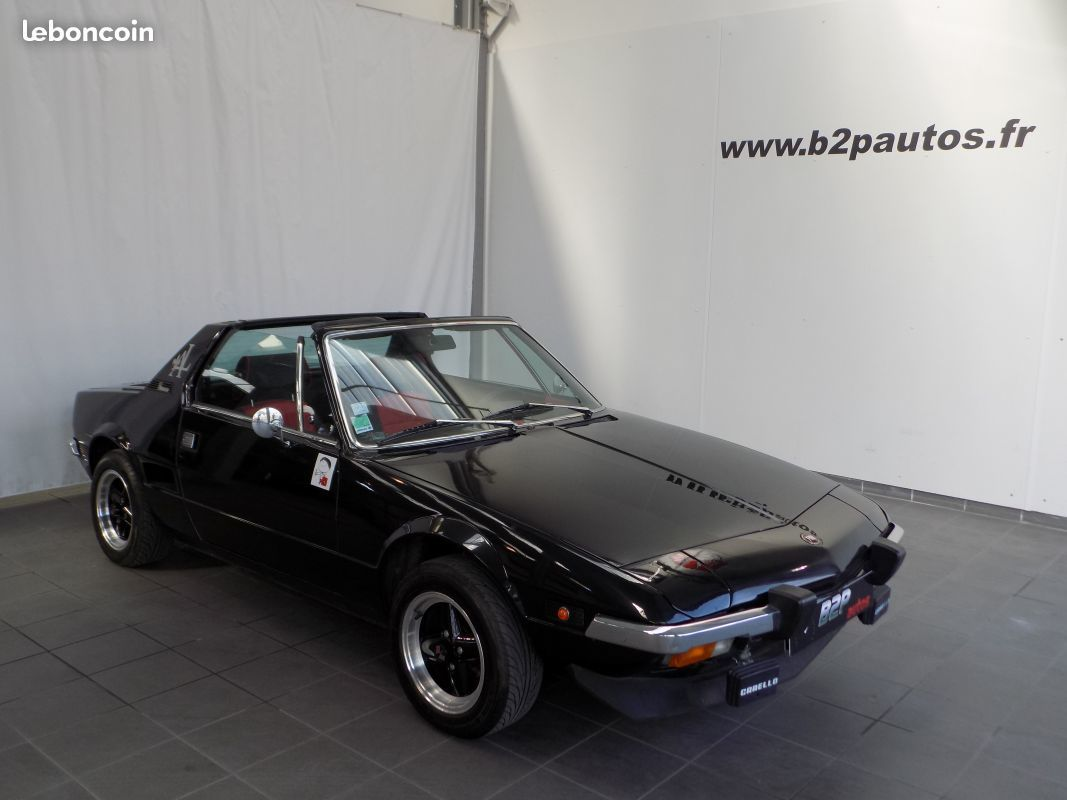photo vehicule vendu - Fiat x1/9 edition lido 1300 cc x 1 / 9