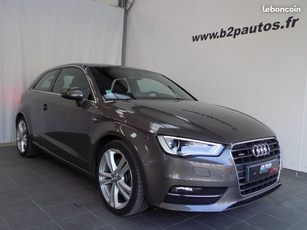 photo vehicule vendu - Audi a3 s-line 2.0 tdi 184 cv bva quattro 33000km