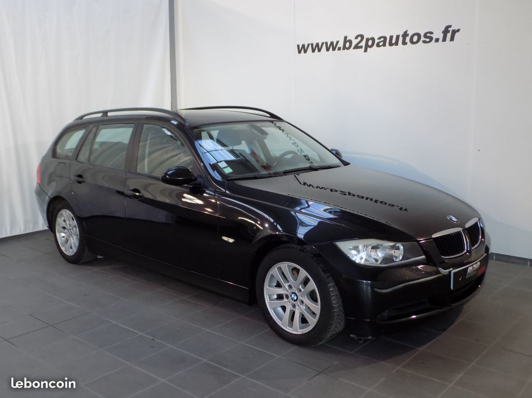 photo vehicule vendu - Bmw 318 d touring 143 cv break bv6 serie 3