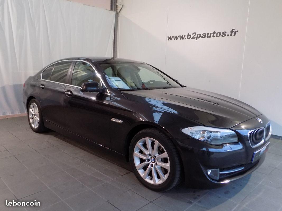 photo vehicule vendu - Bmw 525 da luxe 204 cv f10 cuir gps serie 5