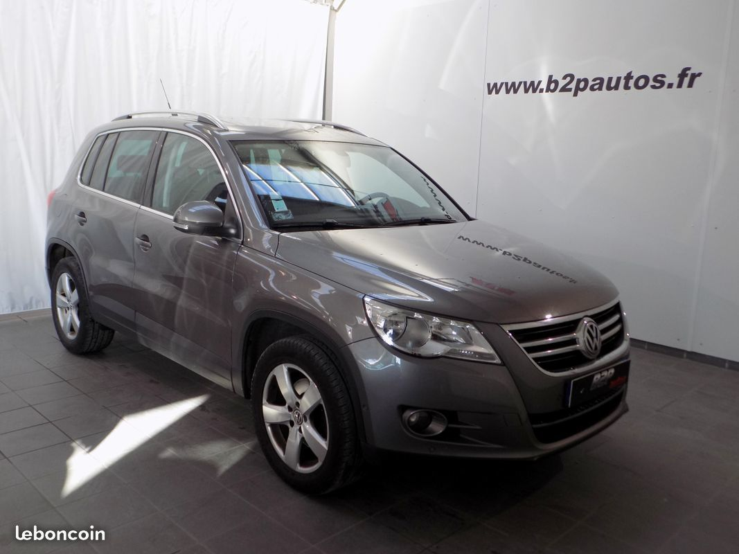 photo vehicule vendu - Volkswagen tiguan 2.0 tdi 140 cv carat cuir to