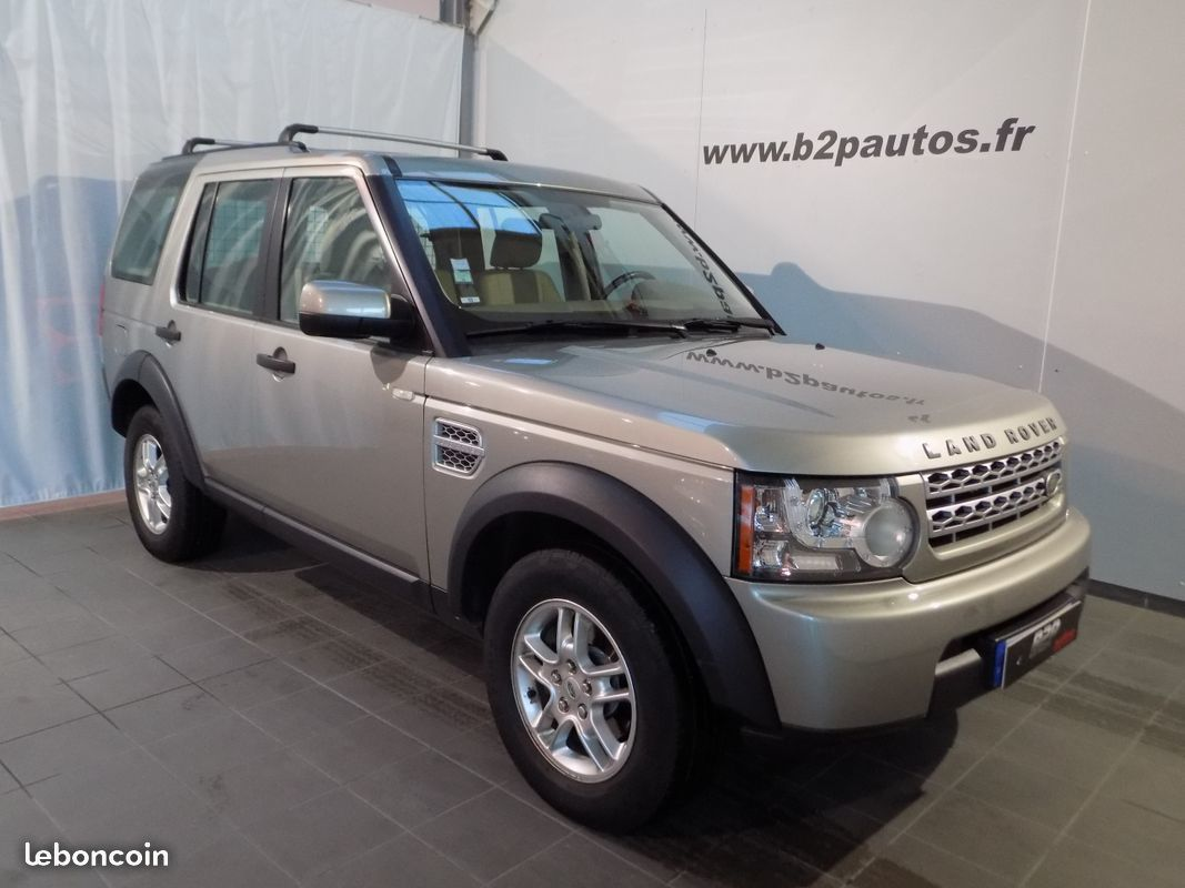 photo vehicule vendu - Land rover discovery 4 tdv6