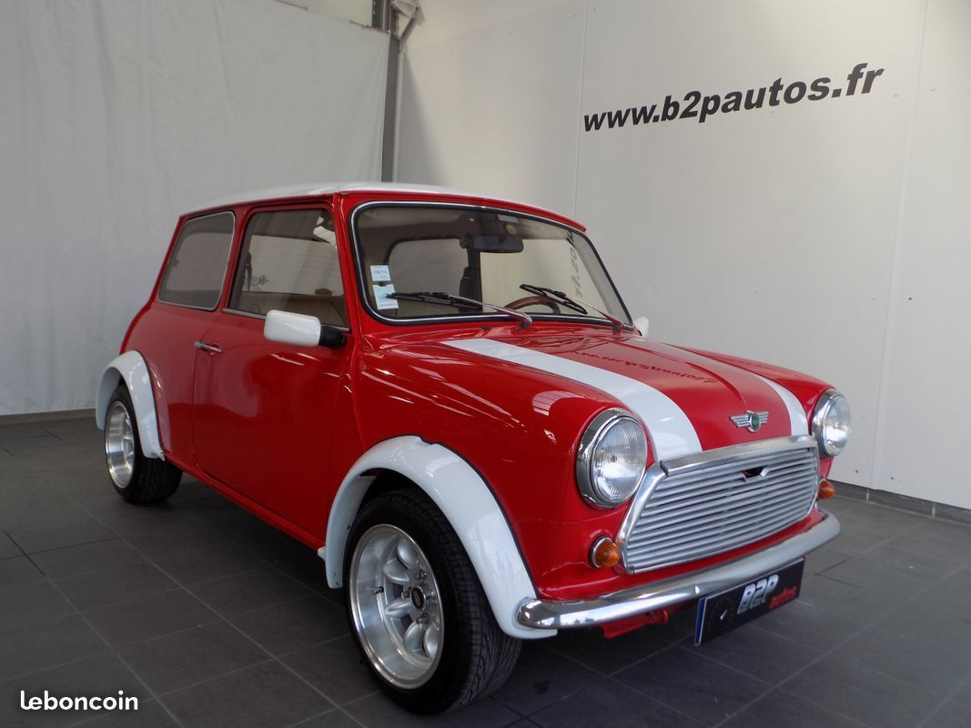 photo vehicule vendu - Austin mini 1979 restauree