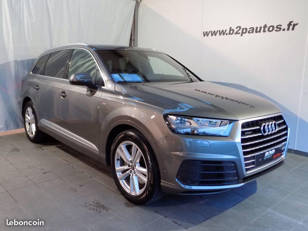 photo voiture audi Audi q7 3.0 tdi 272 cv s-line 7 places toit pano