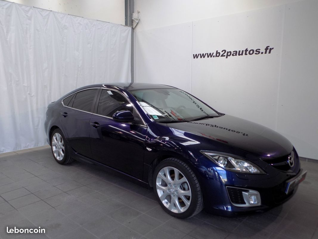 photo vehicule vendu - Mazda 6 sport 2.0 mzr-cd 140 cv 2009