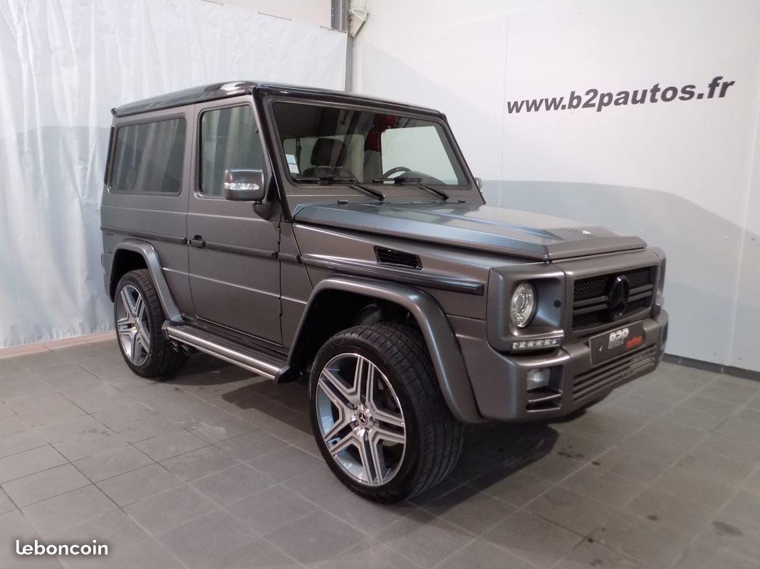 photo vehicule vendu - Mercedes classe g v8 258 cv g400 cdi