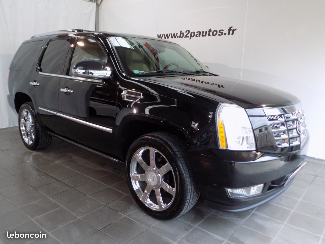 photo vehicule vendu - Cadillac escalade v8 6.2 l 410 cv 7 places ethanol