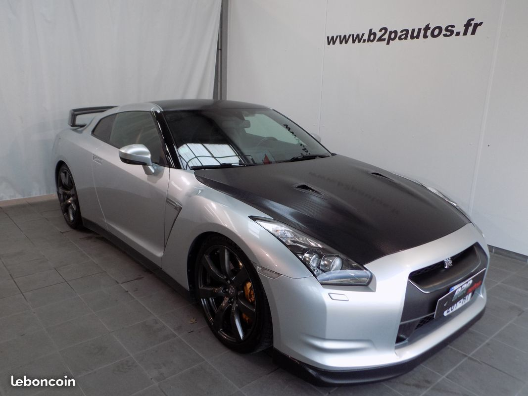 nissan gtr 3 8 l v6 stage 2    620 cv black edition