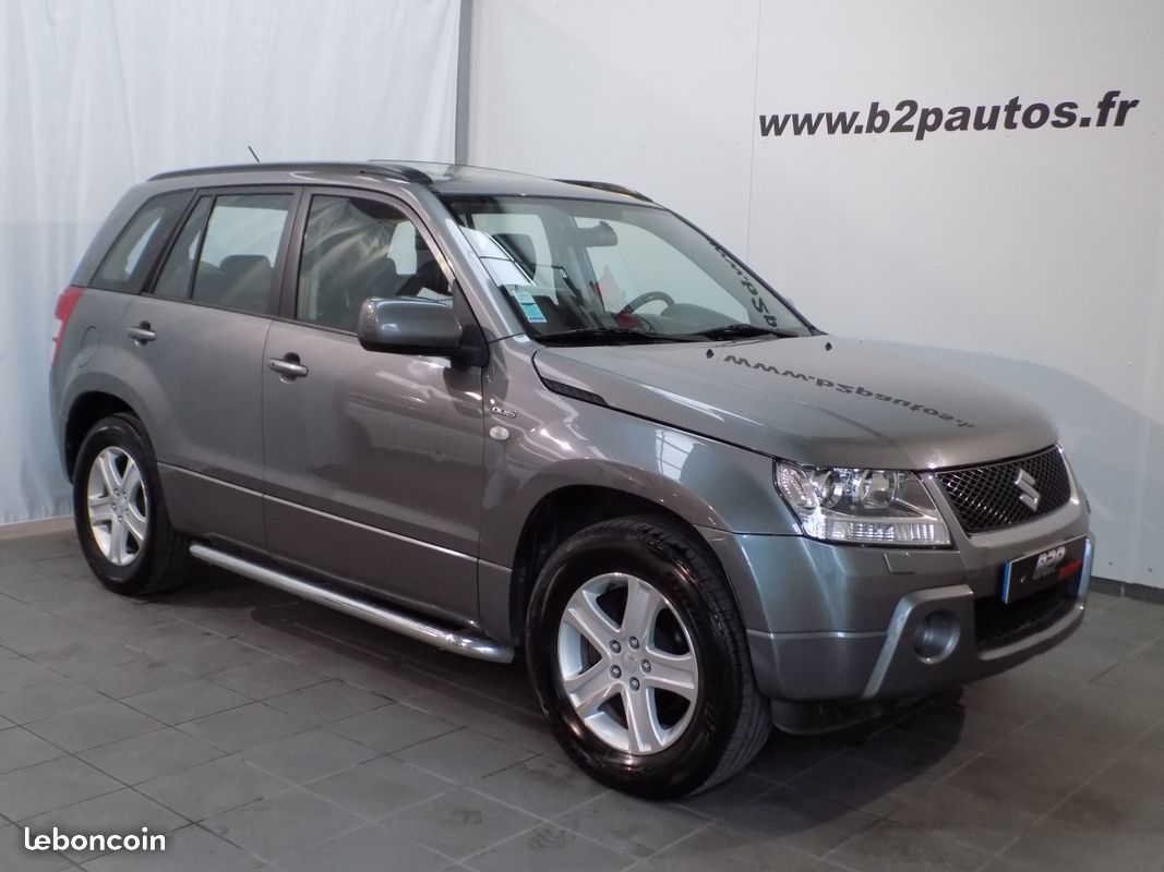 photo vehicule vendu - Suzuki grand vitara 1.9 ddis 130 cv luxe 4x4 5p