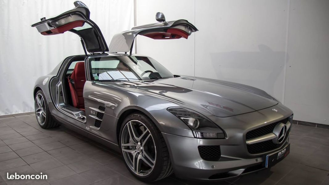 photo vehicule vendu - Mercedes sls coupe v8 6.3 amg 571 cv