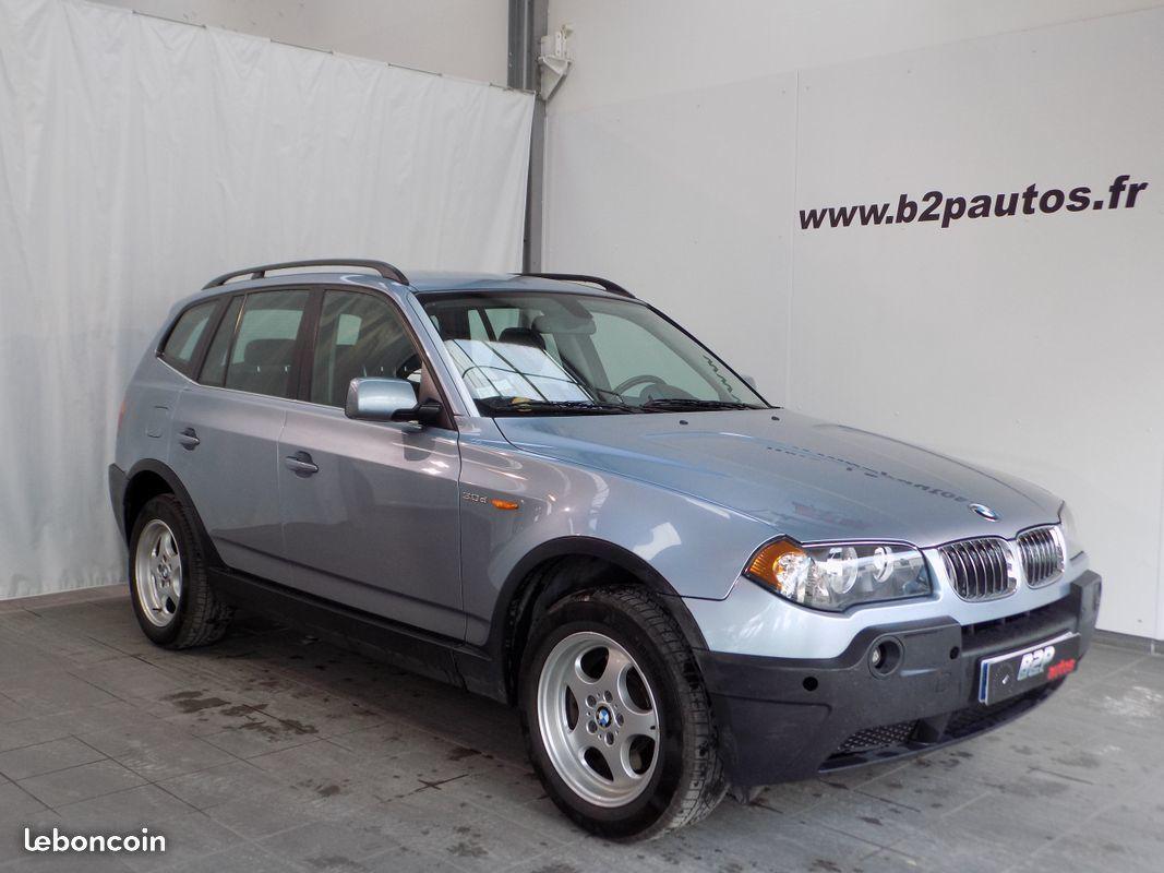 photo vehicule vendu - Bmw x3 3.0d 204 cv pack luxe 4x4 bv6