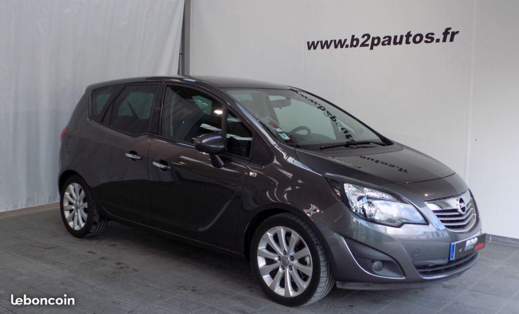 photo vehicule vendu - Opel meriva 1.7 cdti 100 cv bva cosmo pack