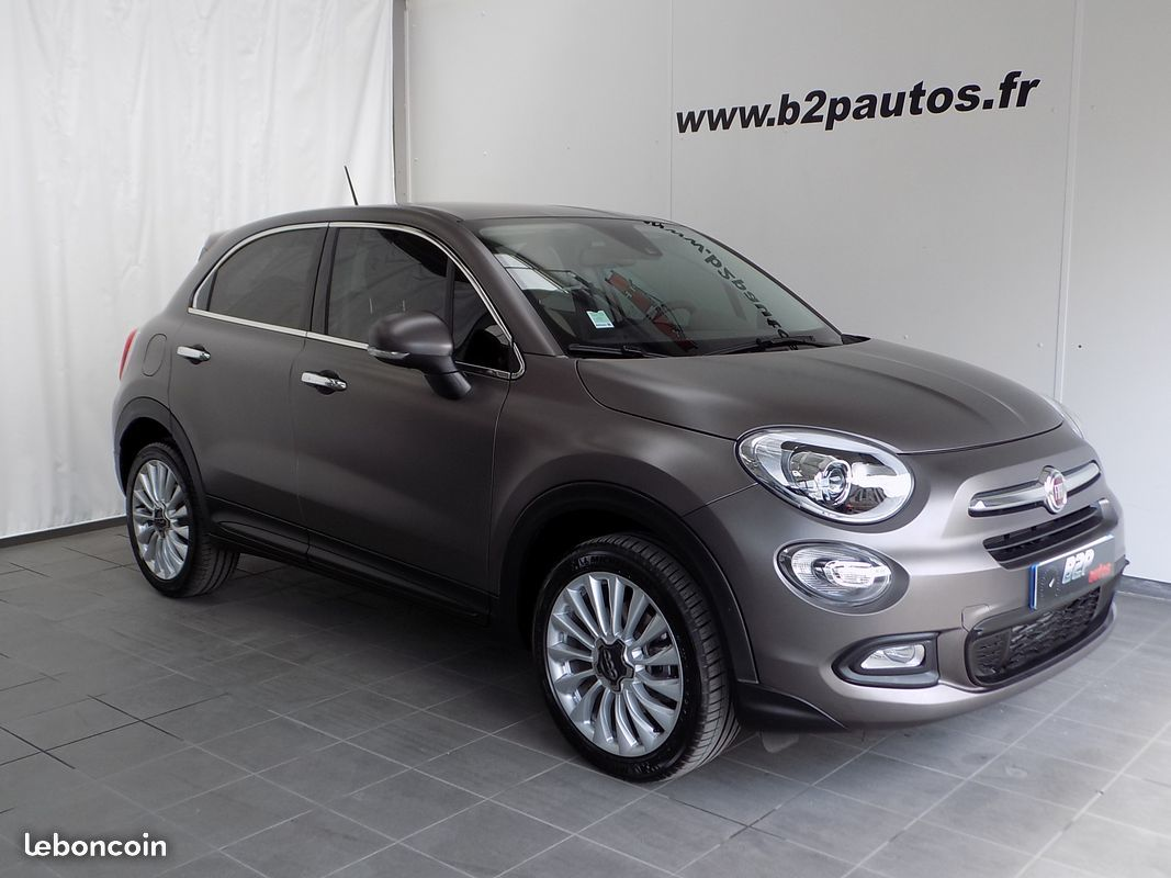 photo vehicule vendu - Fiat 500 X Lounge 120 cv Gris mat