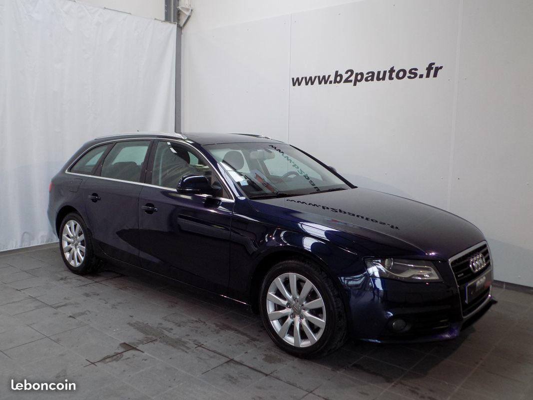 photo vehicule vendu - Audi a4 avant 3.0 tdi 240 cv quattro bva toit pano