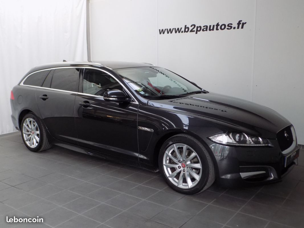 photo vehicule vendu - Jaguar xf 2.2 d 200 cv british edition sportbrake