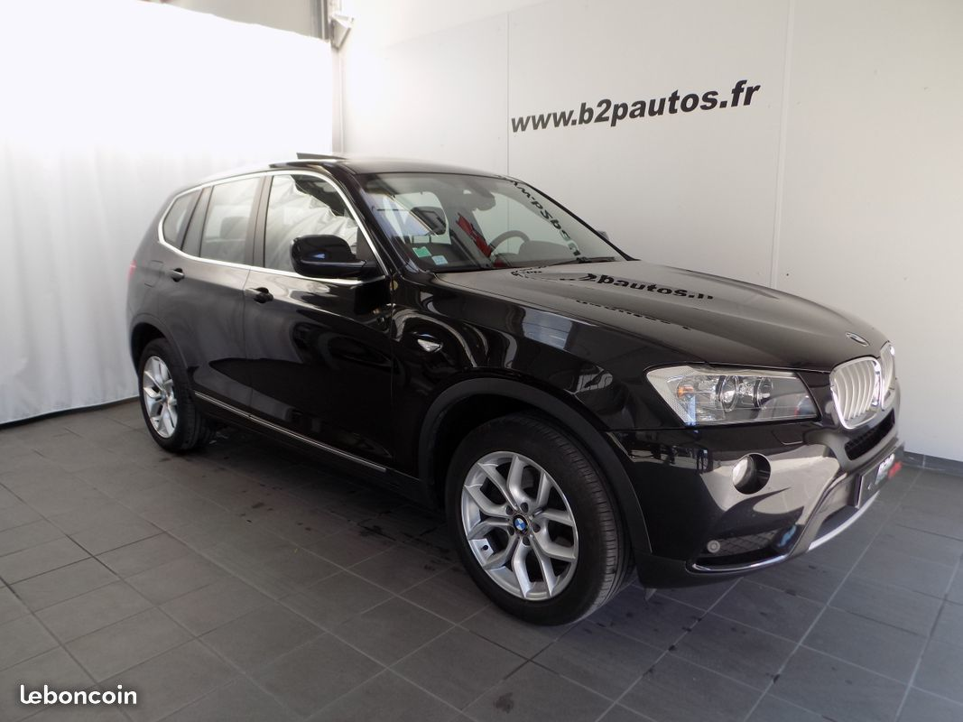 photo vehicule vendu - Bmw x3 3.0 da exclusive 258 ch toit ouvrant 2 main