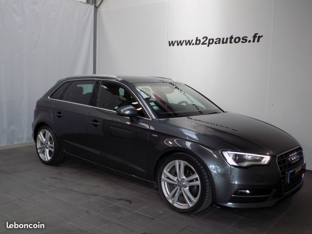 photo vehicule vendu - Audi a3 2.0 tdi 150 cv s-line sportback