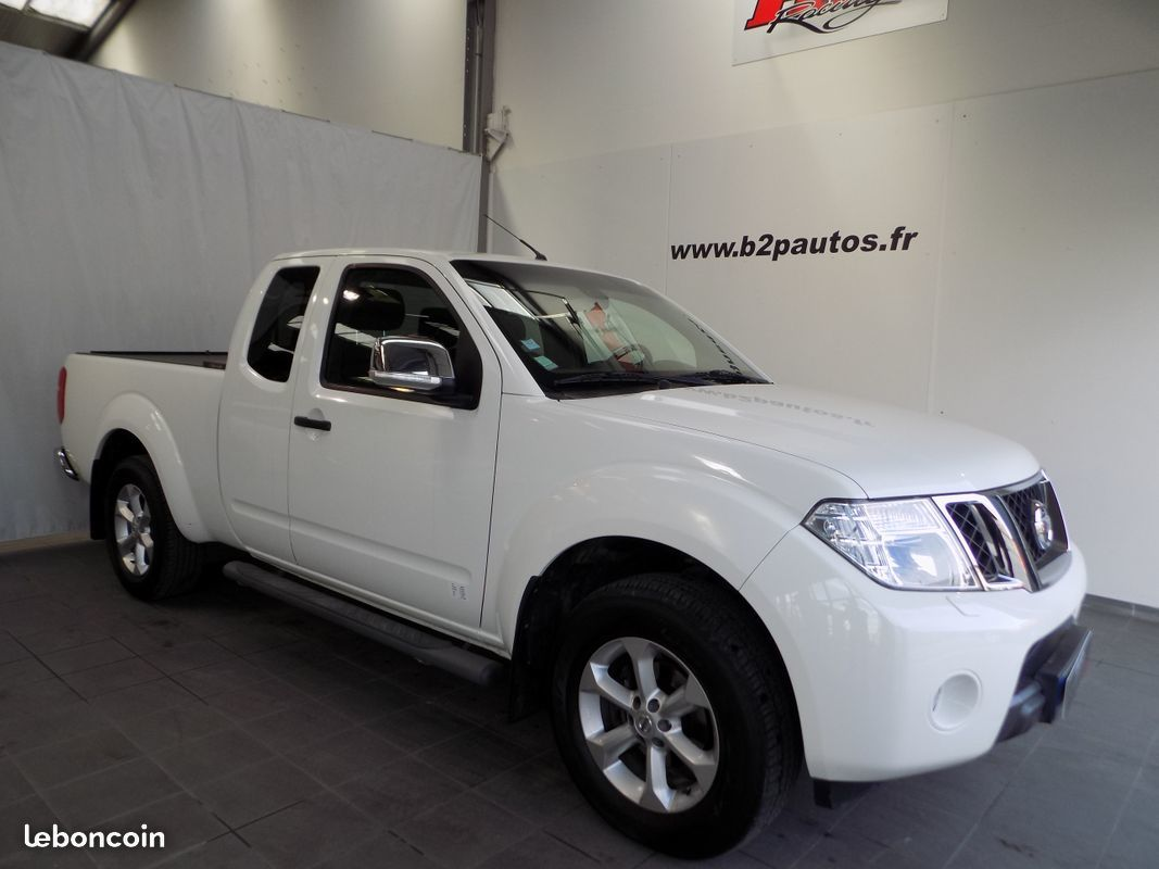 photo vehicule vendu - Nissan navara 2.5 dci 190 cv pick up king cab le