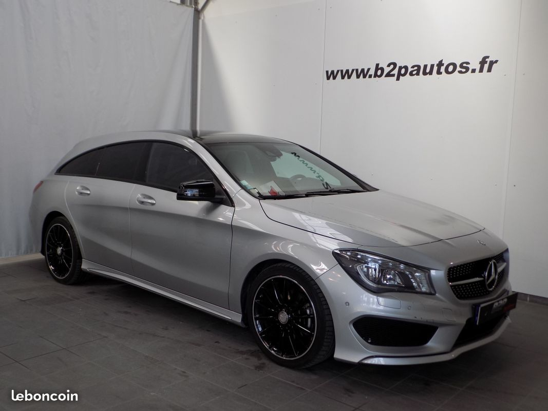 photo vehicule vendu - Mercedes cla 200 shooting brake pack amg