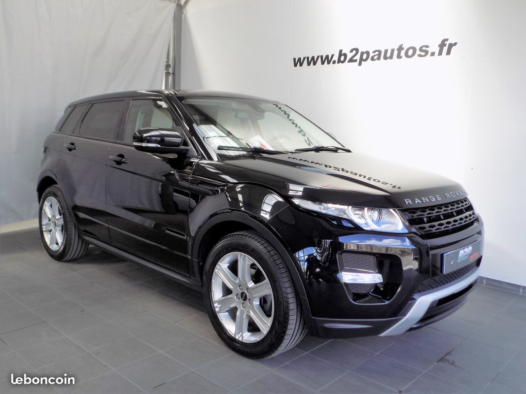 photo vehicule vendu - Land rover range rover evoque sd4 190 cv dynamic