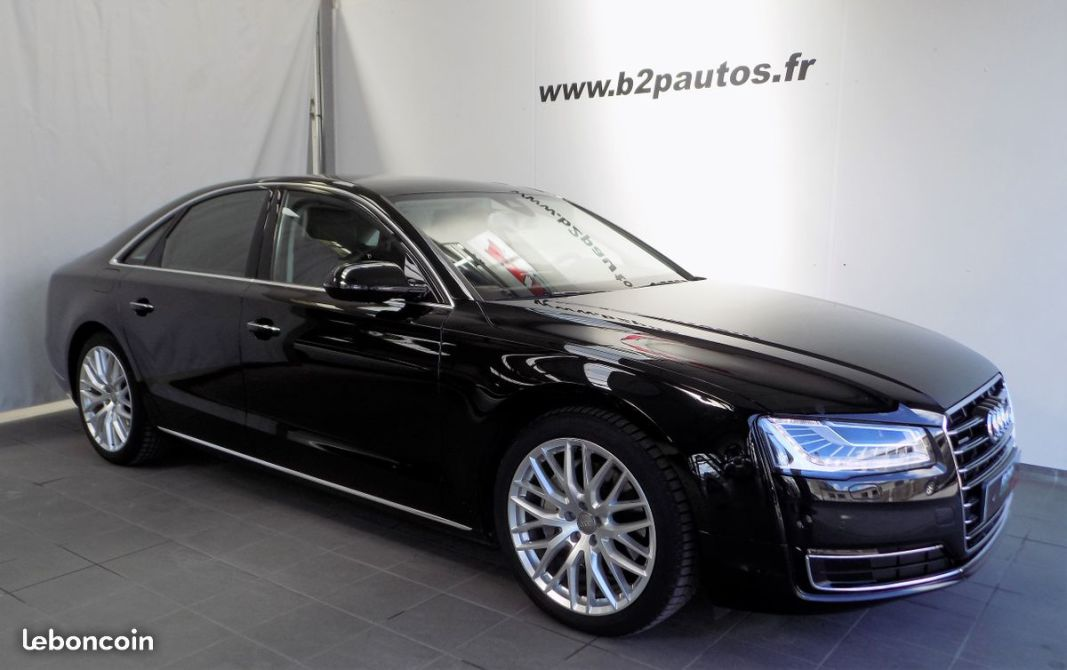 photo vehicule vendu - Audi a8 3.0 v6 tdi 262 cv avus Extended 1ere main
