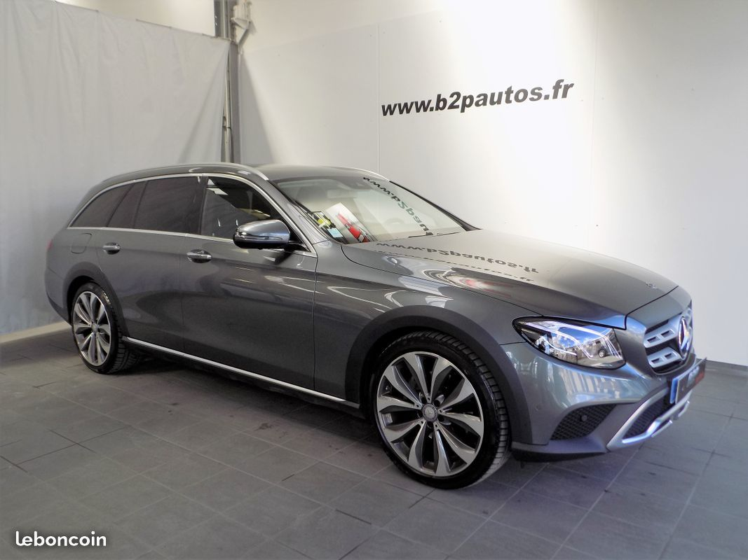photo voiture mercedes Mercedes classe e220 all-terrain 4matic 194cv