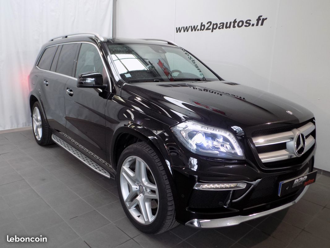 photo vehicule vendu - Mercedes gl 350 cdi amg fascination 258cv